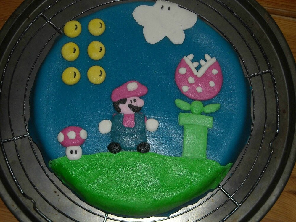 2014-Gateau Super Mario_Damalalicorne