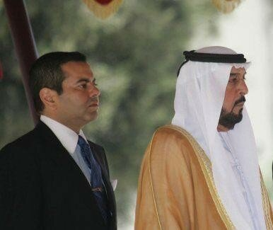 Prince Moulay Rachid and President of the UAE, Rabat, July 26, 2006