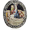 Pieta, limoges, xviiième siècle, baptiste nouailher (1699-1775)