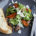 Salade de boeuf et potimarron rti