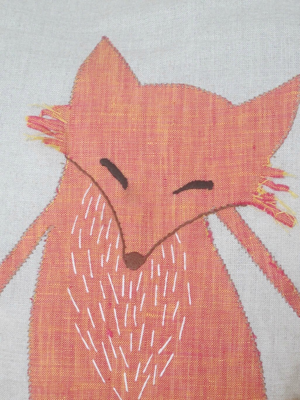 applique-renard-lin-orange