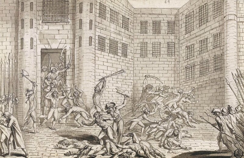 f- massacres de septembre 1789 a