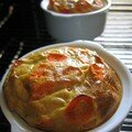 Mini terrines de carotte aux épices