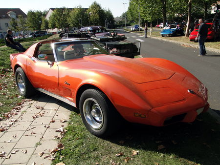 CHEVROLET Corvette Stingray Coupe 1975 1976 A la Recherche des Autos Perdues Guermantes 2009 1