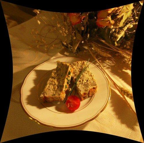 cake aux artichauts