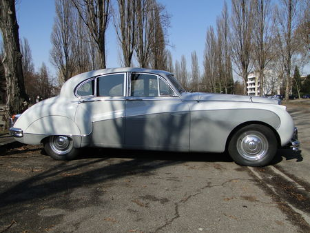 JAGUAR Mark IX 1959 Retrorencard 5
