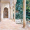 Dulwich hosts major exhibition of watercolours by john singer sargent