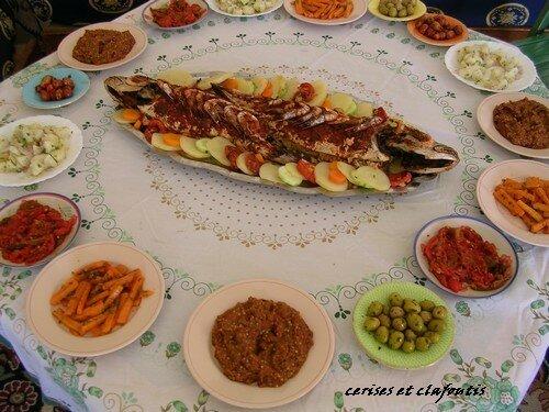 repas chez AZIZA