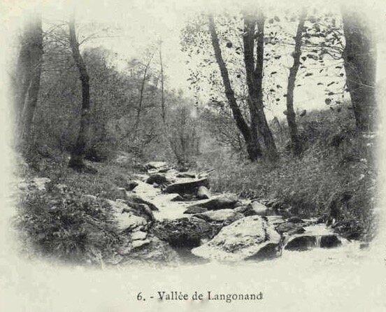 vallée de Langonand