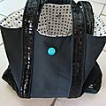 Sac  paillettes fait par ANNE