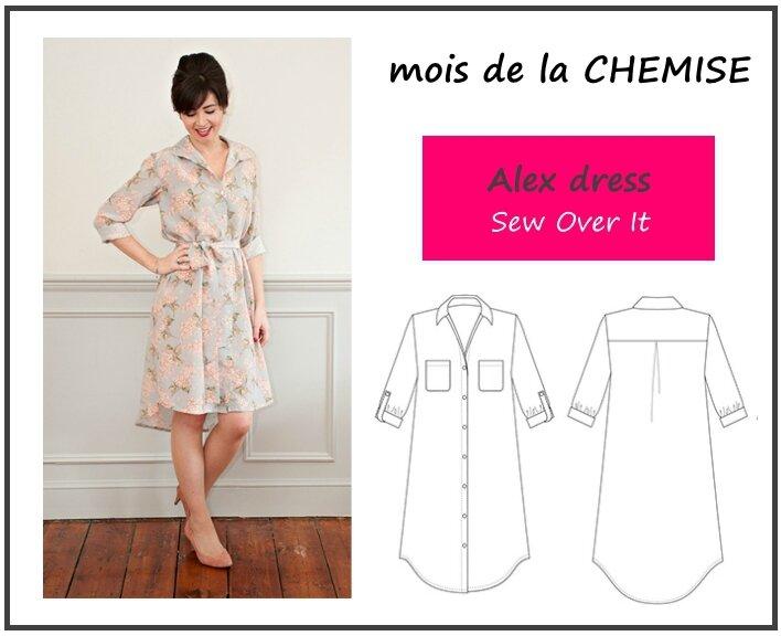 Alex dress - Sew Over It
