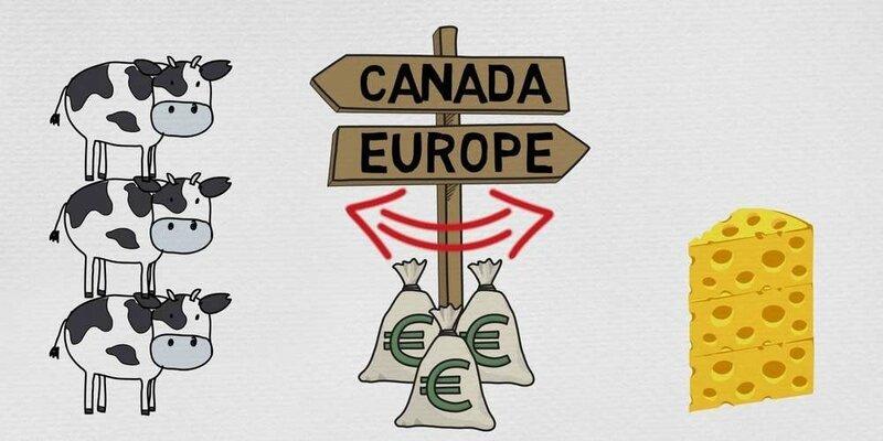 le-ceta-vise-a-augmenter-les-echanges-entre-le-canada-et-l-union-europeenne