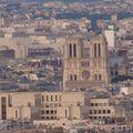 Notre-Dame, depuis la Tour Eiffel
