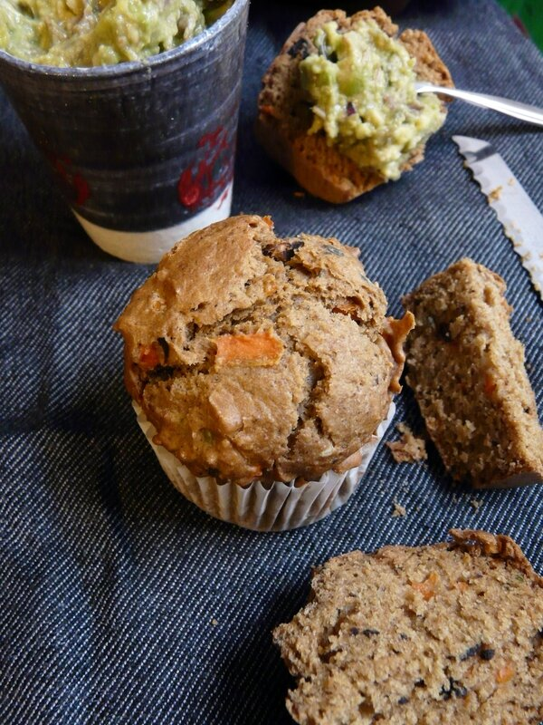 Ensemble muffins salés