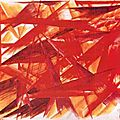 Rayonnisme 1913_Rayonnisme rouge_Larionov