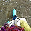 Quelques pas sur le sable