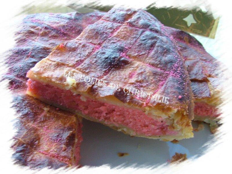 Galette des rois biscuits roses 12