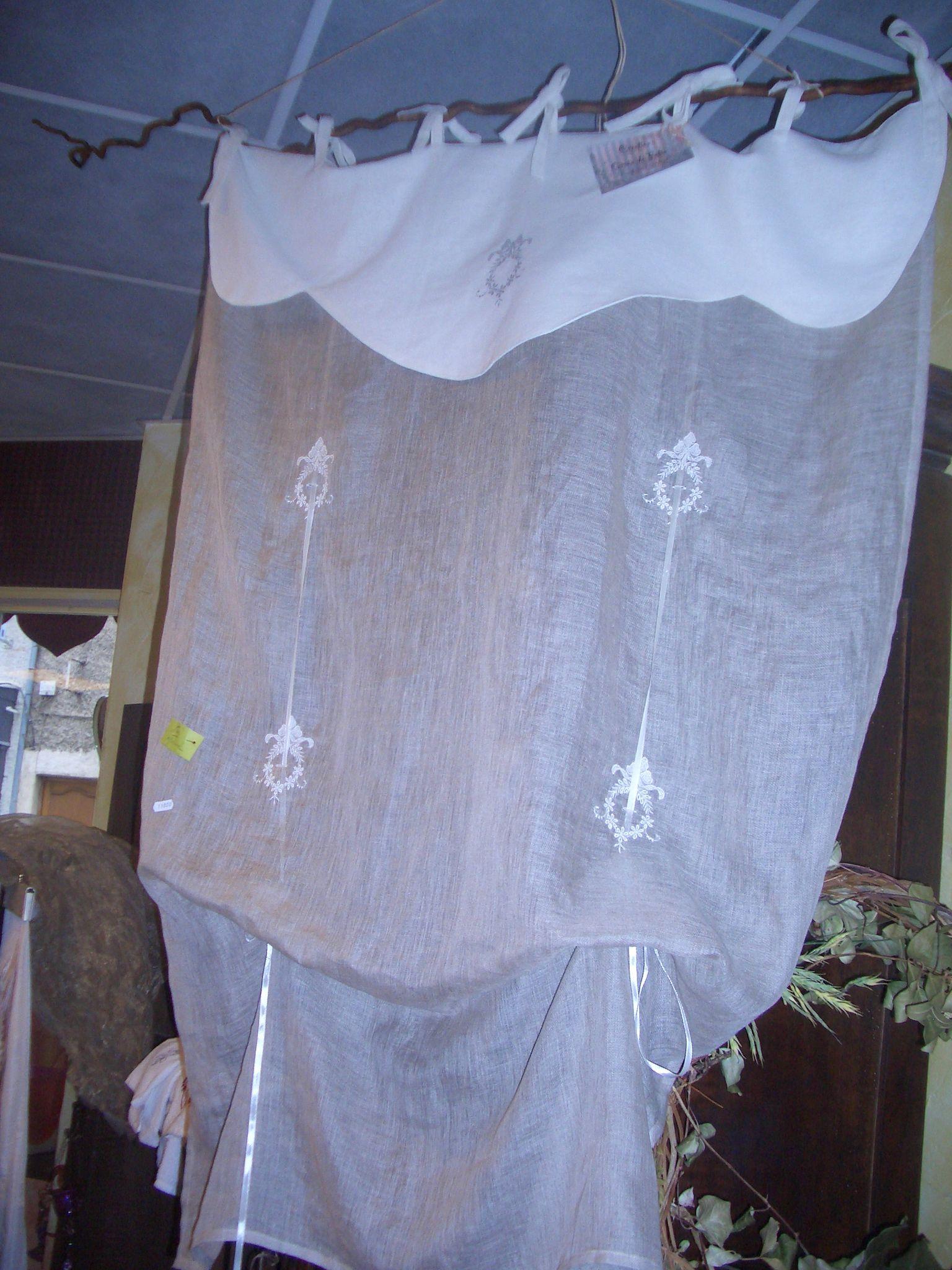 rideau lin et voile de lin photo de mes rideaux grain de folie creation. Black Bedroom Furniture Sets. Home Design Ideas