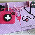 carte d'anniversaire infirmière 30 ans