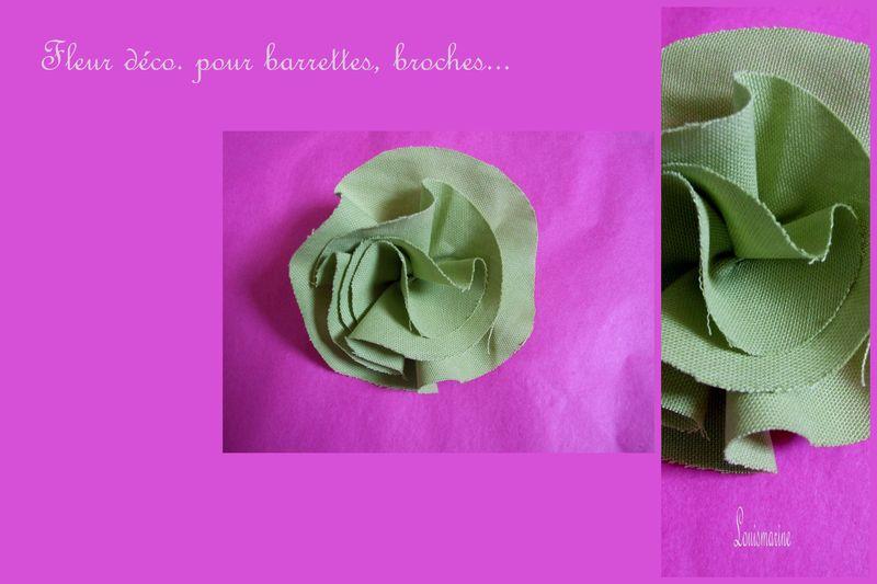 tuto fleur en tissu club couture louismarine. Black Bedroom Furniture Sets. Home Design Ideas