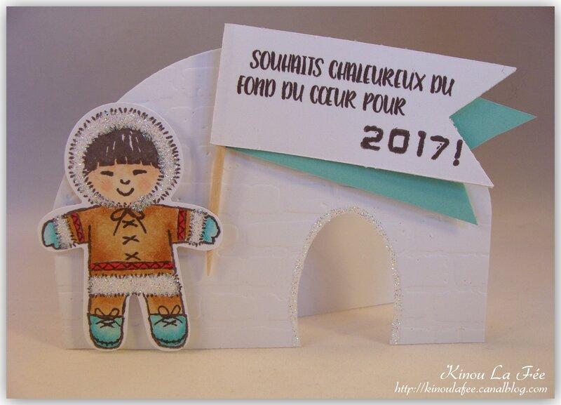 Carte Cookie Cutter Inuit 3
