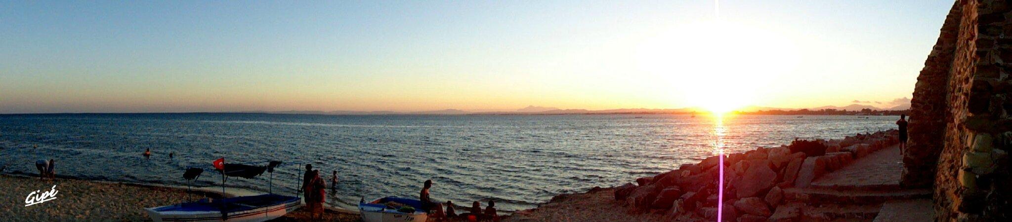 Coucher de soleil du jeudi 1er août 2013