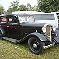TALBOT T105 berline 1934 Lipsheim (1)