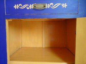 Meuble bleu intérieur 2