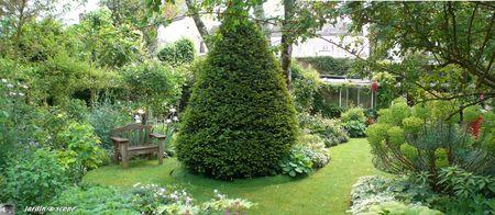 Dans le jardin d'André Eve - Mai 2008