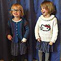 Duo de jupes-culottes (rien que le mot fait rire)