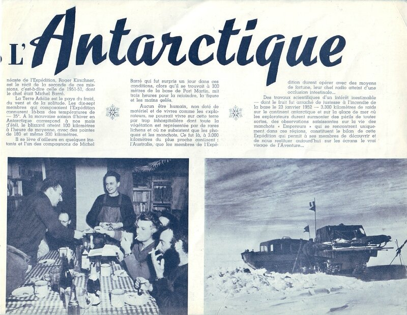 Un an en Antarctique film 3