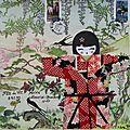 BLIN DOMINIQUE art postal fête du fil 2016