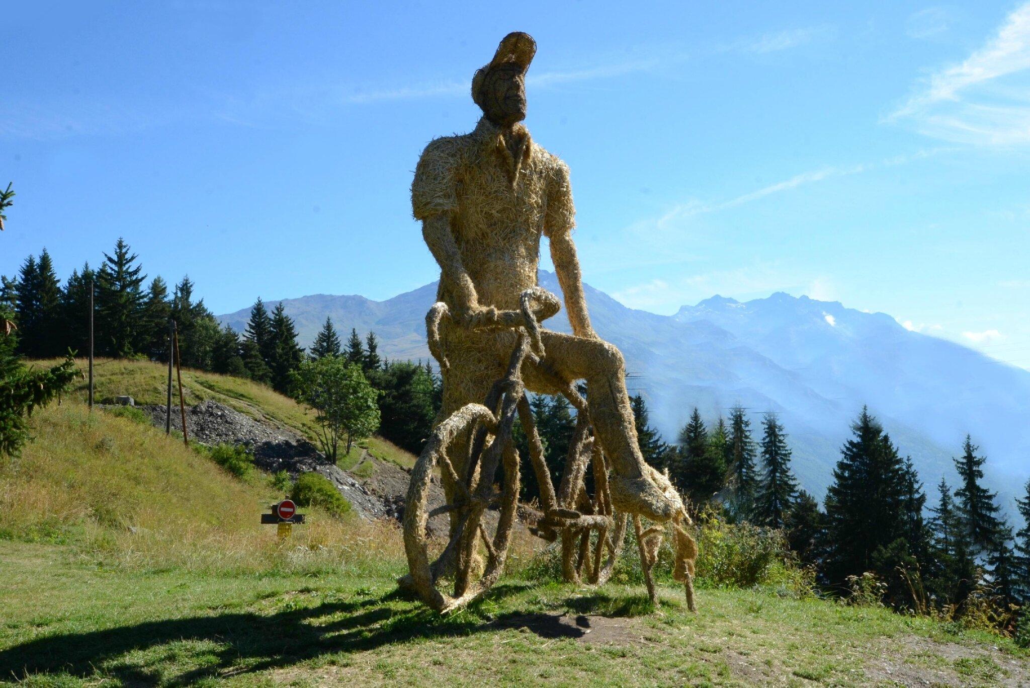 Valloire : sculptures géantes