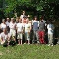 photo de groupe avant de depart