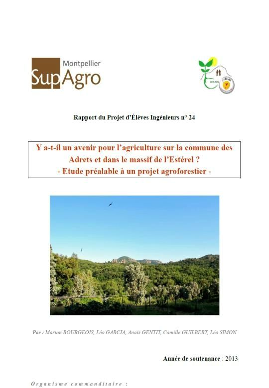commentaire agroforesterie bac es