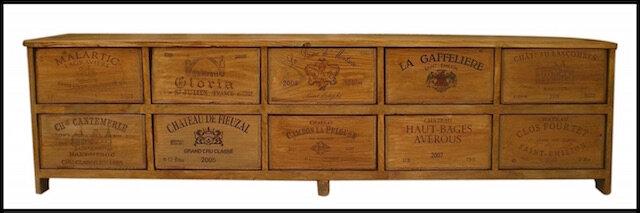 meuble caisses bois bouteilles vin 4