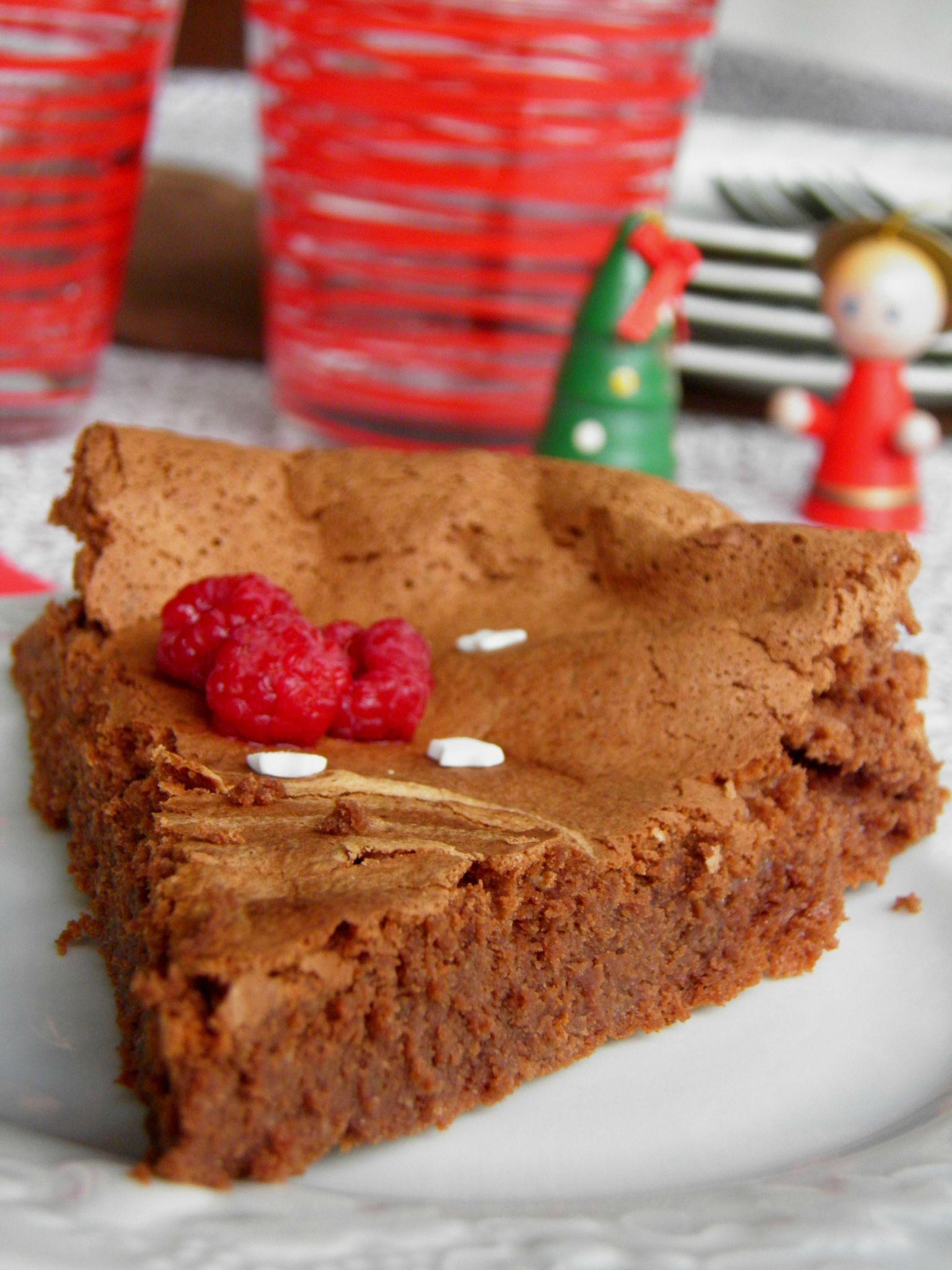 gâteau au chocolat sans beurre et sans reproche - Aux ...