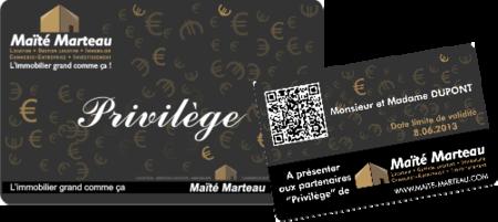 Carte privilège assemblée 2