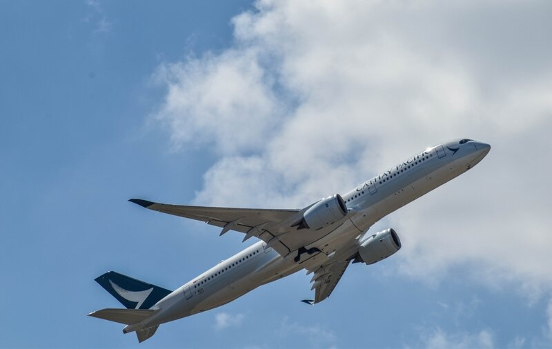 Airbus A350 de Cathay Pacific
