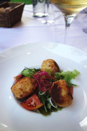 restaurant Sous le charme Saint Andre Lez Lille entree 001 LE MIAM MIAM BLOG