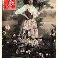 Carte amitié sincère 1909