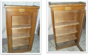 meuble avec étagères