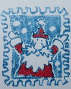 timbre noel pere noel