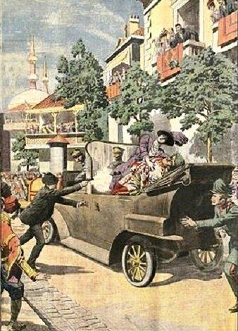 Image Sarajevo Assassinat Archiduc Ferdinand R