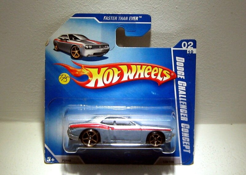 Dodge challenger concept (Hotwheels)