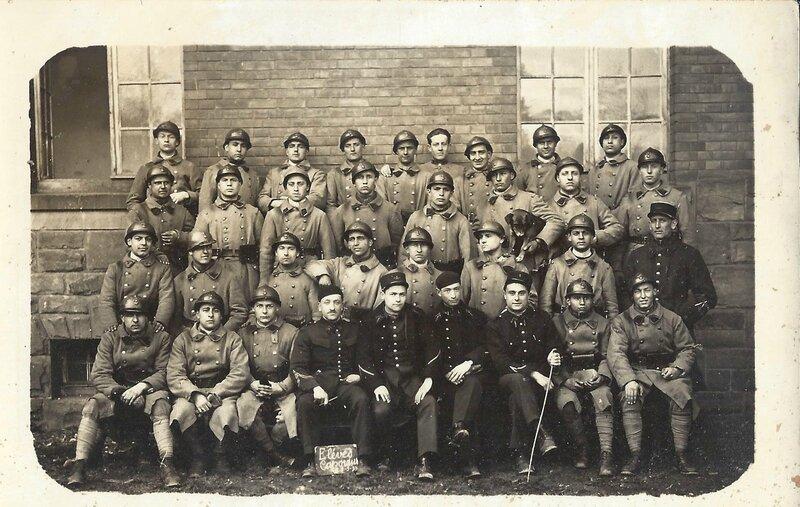 En formation, élève Caporal à Rochefort