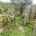 Casas pedras natureza