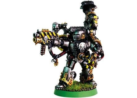 Photo space marine Iron Warriors