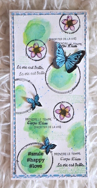 Carte d'anniversaire Lolotte 1 - Lift de carte mai 2018 de Made in Scrap