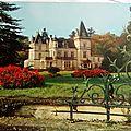 Rouillac - chateau de Lignères - propriété de la Ste Ricard